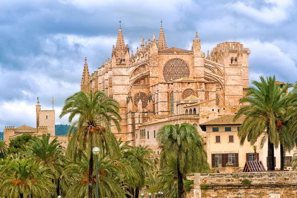 Las catedrales más bonitas de España - Catedral de Palma