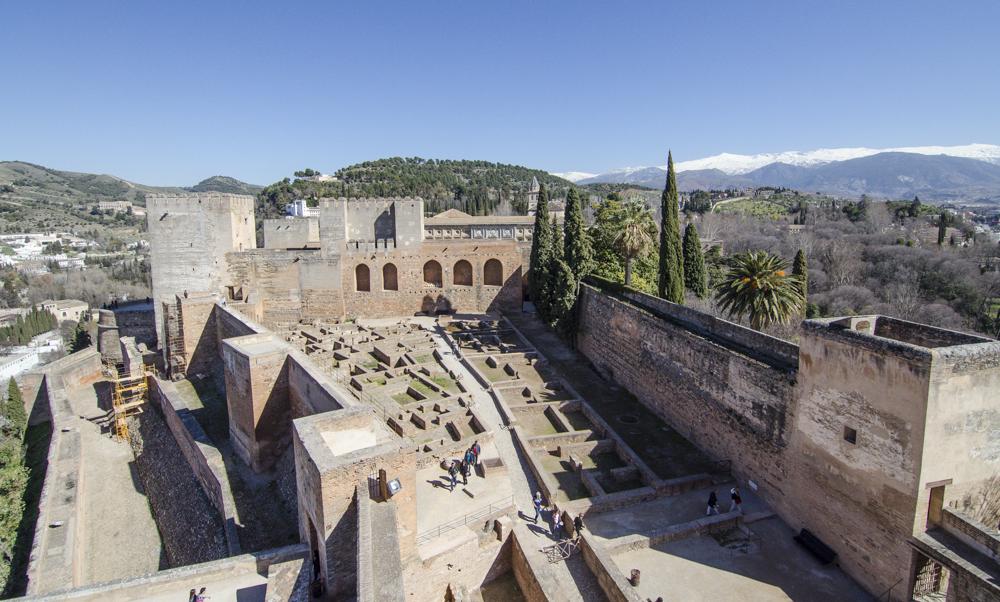 La Alhambra de Granada - La Alcazaba