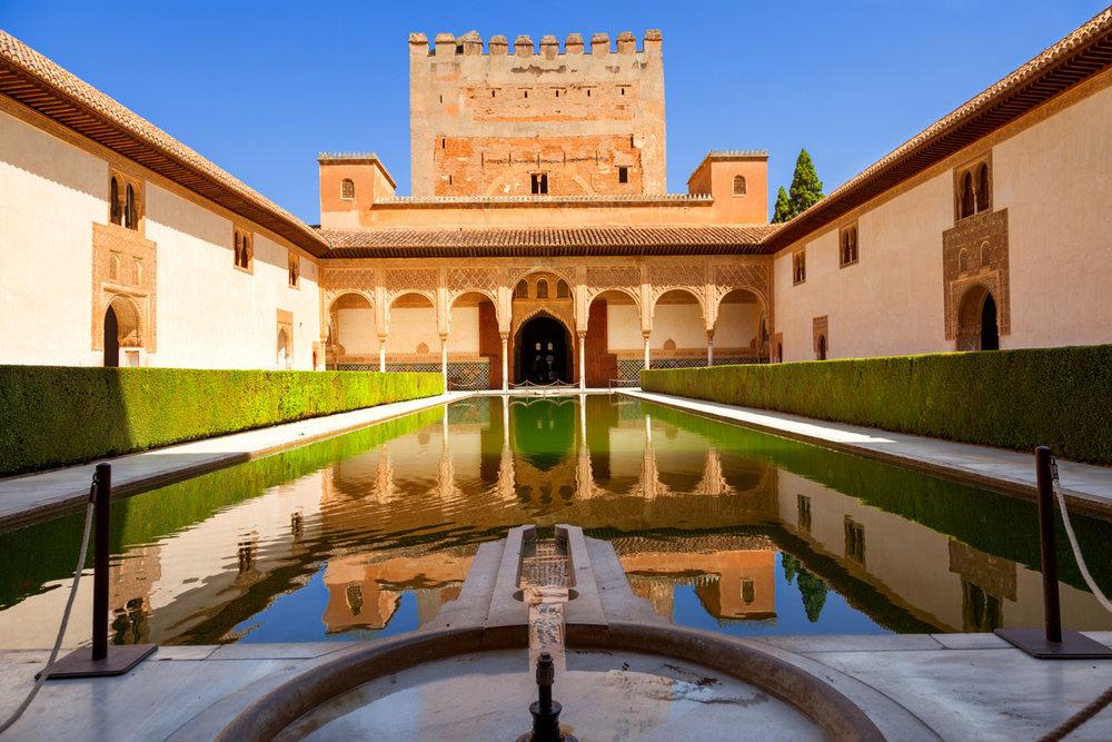 La Alhambra de Granada - Palacios Nazaríes