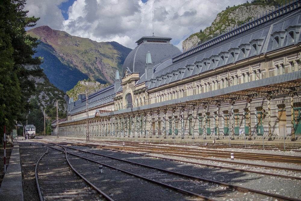 Estación Internacional de Canfranc (Huesca)