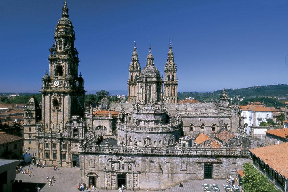 Cubiertas de la Catedral de Santiago de Compostela