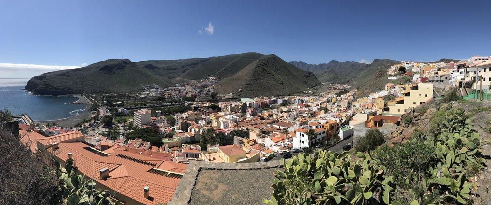 Qué hacer en La Gomera - San Cristobal de La Gomera desde el Parador de Turismo