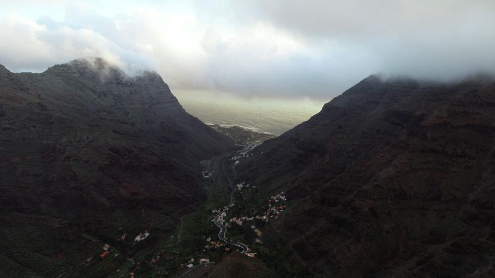 Qué hacer en La Gomera - Mirador de la Curva del Queso