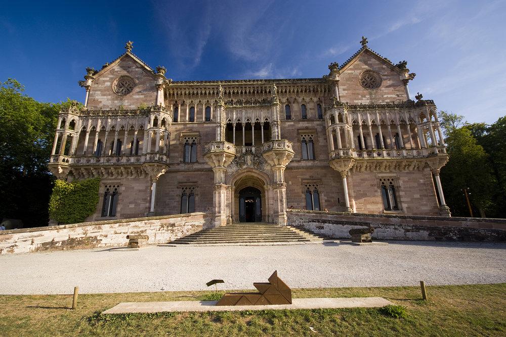 Comillas (Cantabria) - Palacio de Sobrellano