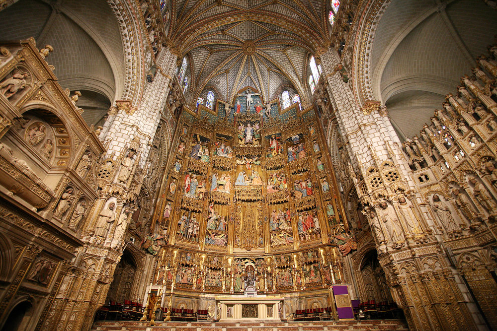 Catedral de Toledo - Altar Mayor