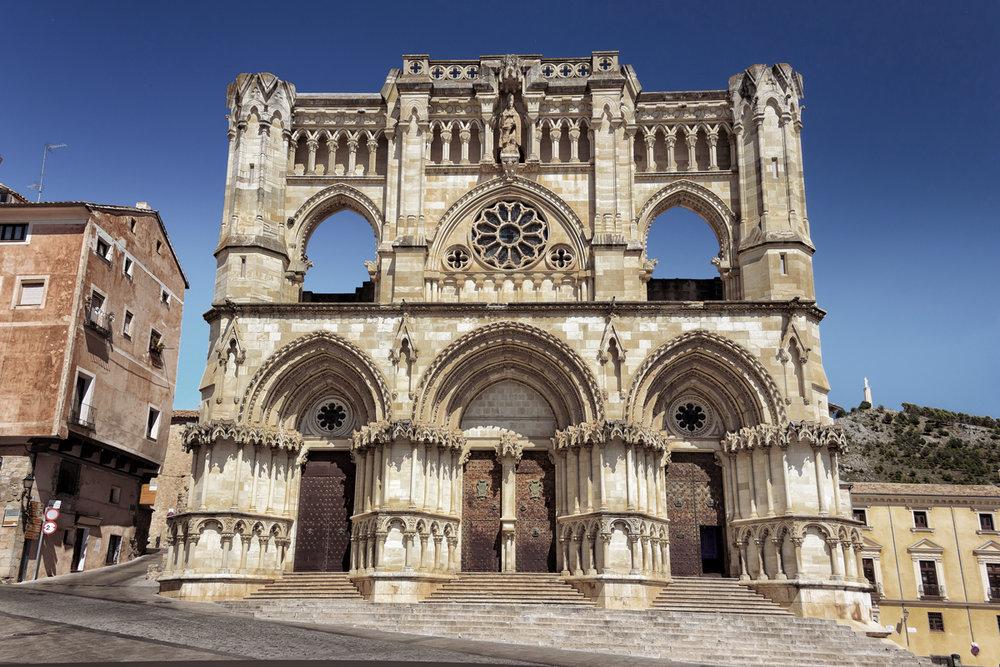 Catedral de Cuenca - Fachada principal