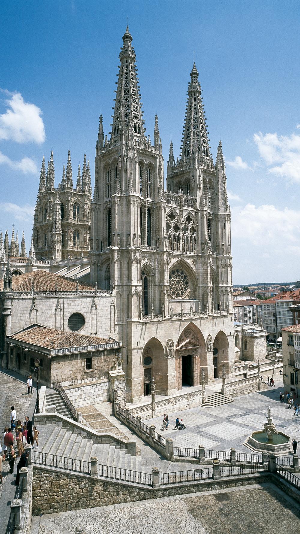 Catedral de Burgos - Fachada principal