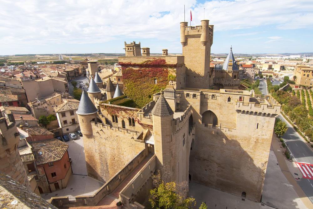 Castillo-Palacio de Olite (Navarra)