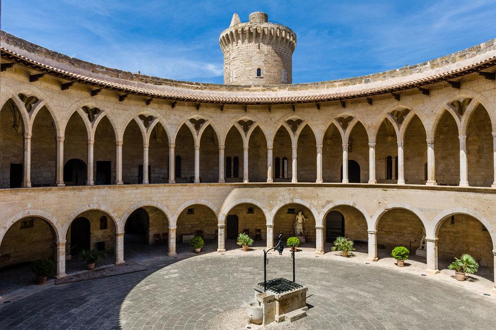 Castillo de Bellver (Palma de Mallorca) - Patio central