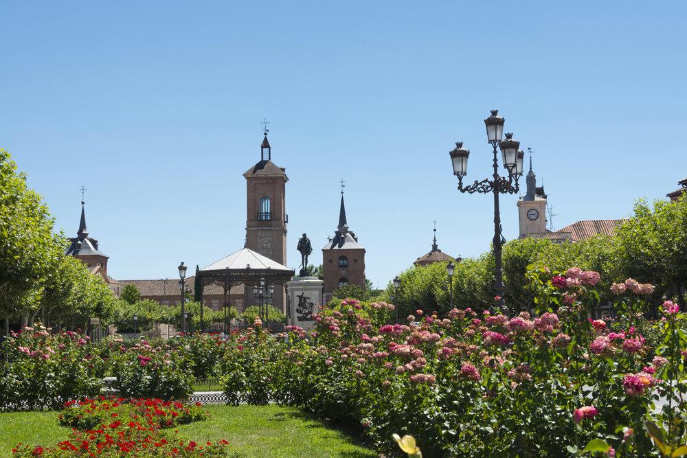 Alcalá de Henares (Madrid) - Plaza de Cervantes