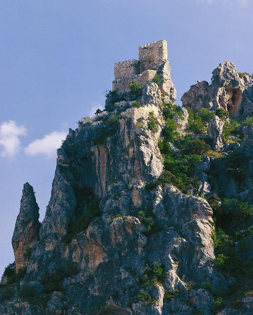 5 bonitos castillos de la provincia de Jaén - Albanchez de Mágina