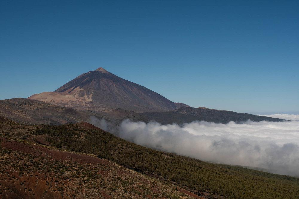 El Teide con su mar de nubes