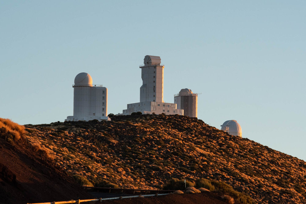 Observatorio de Izaña (El Teide)
