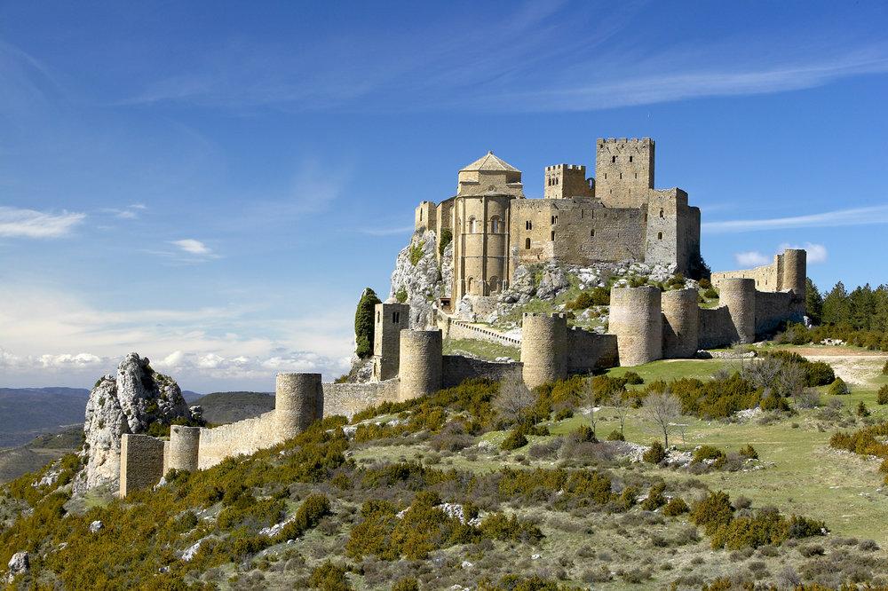 Los castillos más bonitos de España - Castillo de Loarre (Huesca) / Foto: Turismo de Aragón