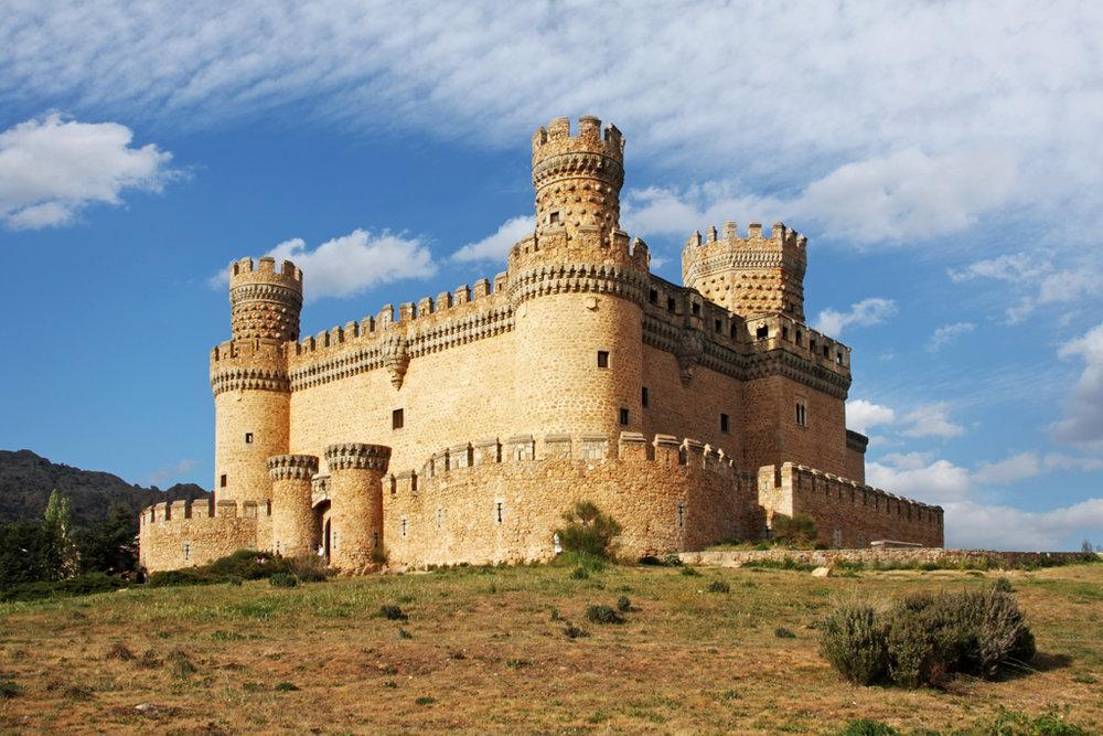 Los castillos más bonitos de España - Castillo de los Mendoza (Manzanares El Real, Madrid)