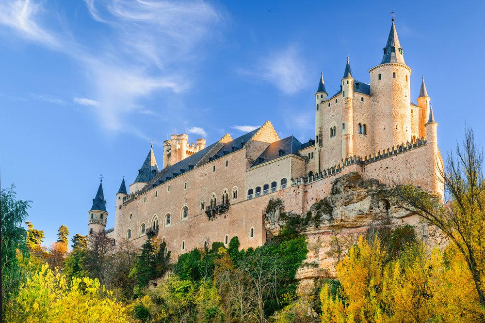 Los castillos más bonitos de España - Alcázar de Segovia