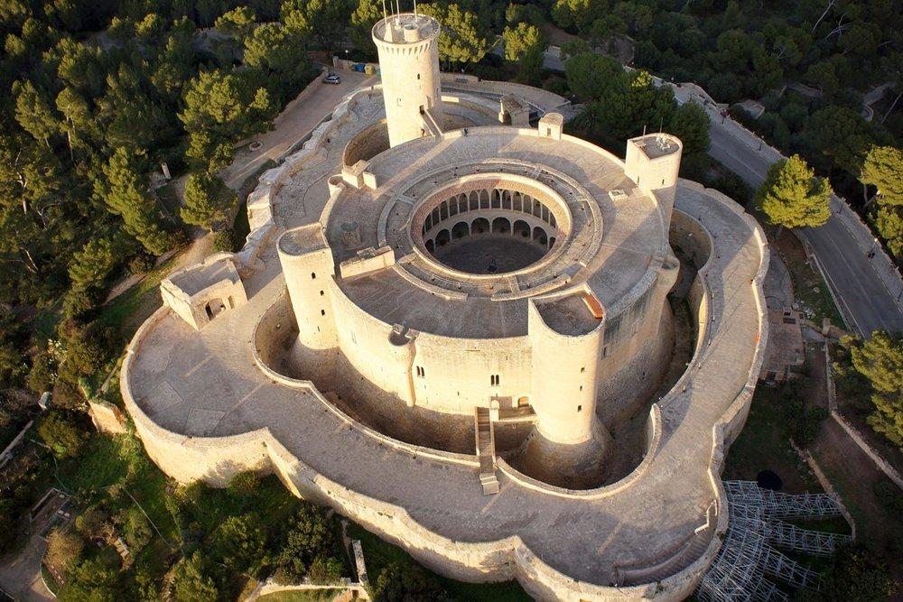 Los castillos más bonitos de España - Castillo de Bellver (Mallorca)