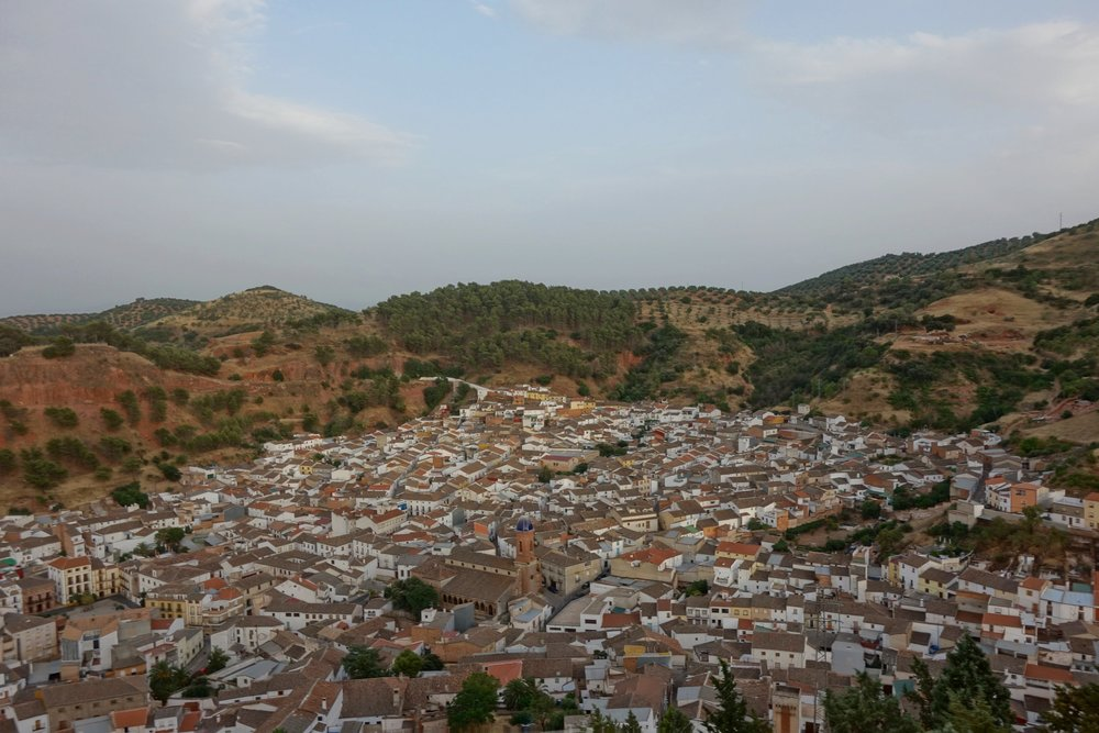 Qué ver en Santisteban del Puerto (Jaén) - Vistas desde el Castillo de San Esteban