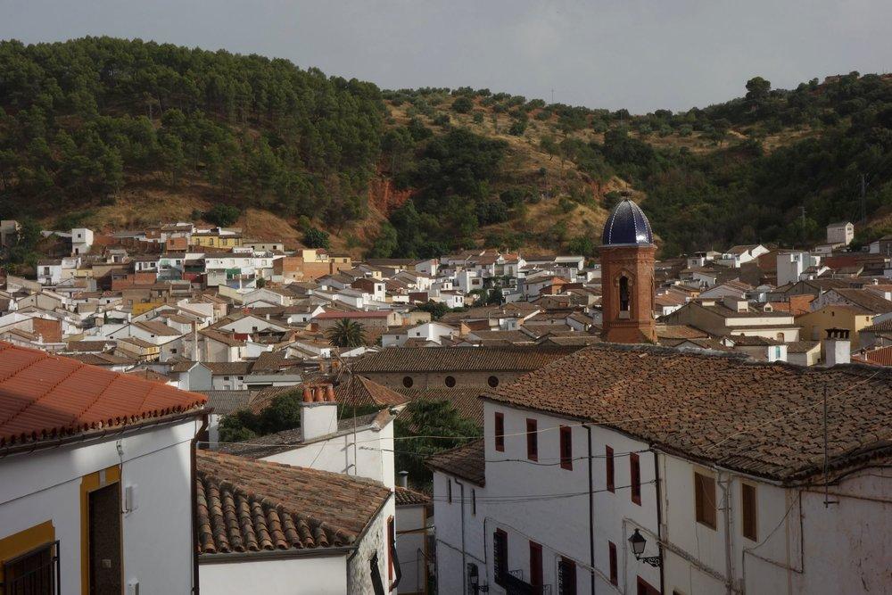 Qué ver en Santisteban del Puerto (Jaén) - Vista de la Iglesia de San Estebán