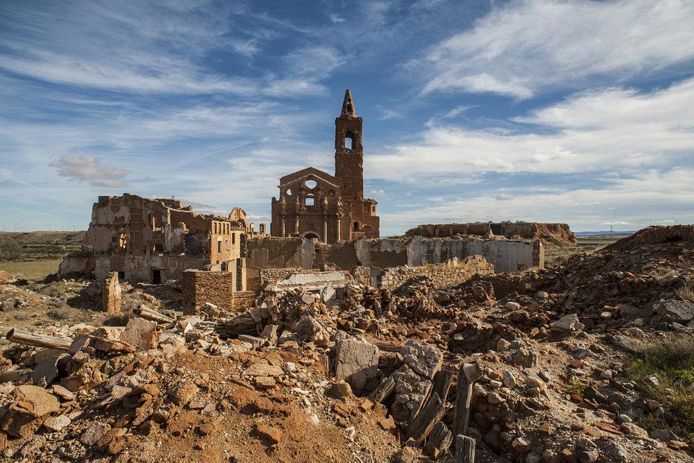 Los 13 sitios de España a los que hemos viajado en 2018 - Belchite Viejo (Zaragoza)