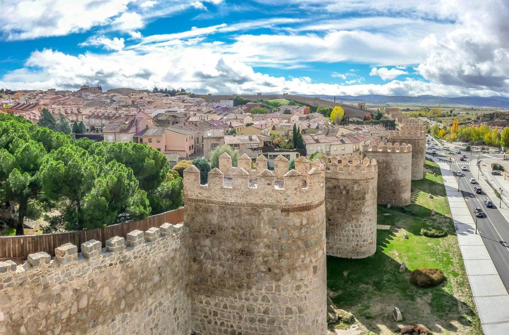 Las 15 ciudades Patrimonio de la Humanidad en España - Ávila
