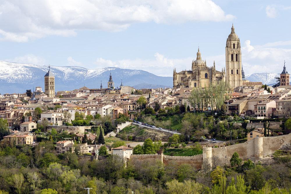 Las 15 ciudades Patrimonio de la Humanidad en España - Segovia