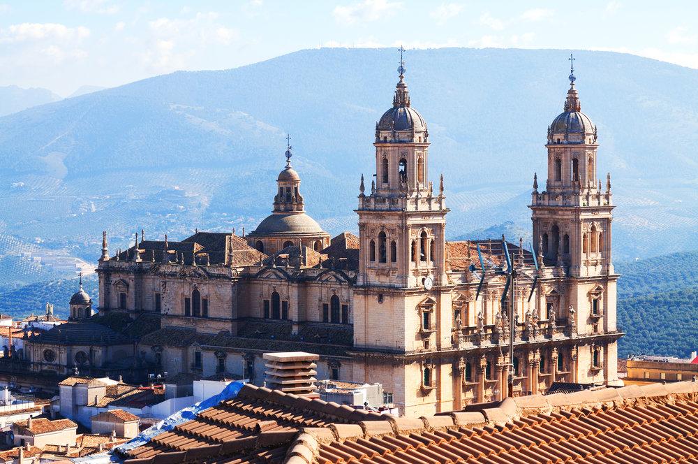 Las catedrales más bonitas de España - Catedral de Jaén   Foto:  Iakov Filimonov   Dreamstime.com