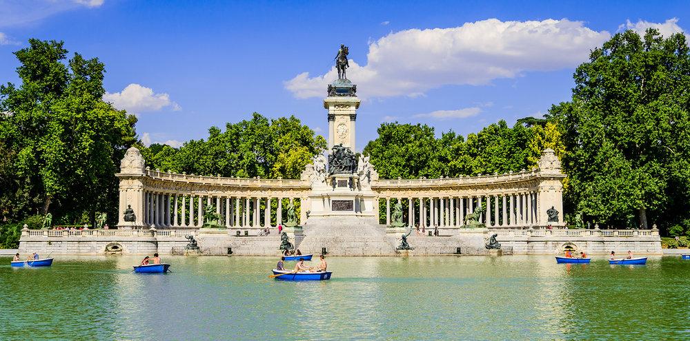 Qué hacer en Madrid - Parque del Retiro.