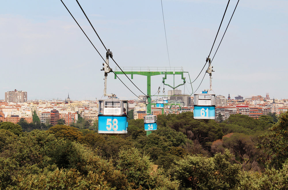 Qué hacer en Madrid - Teleférico de la Casa de Campo