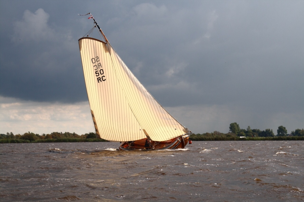 The Constanter during the regatta.