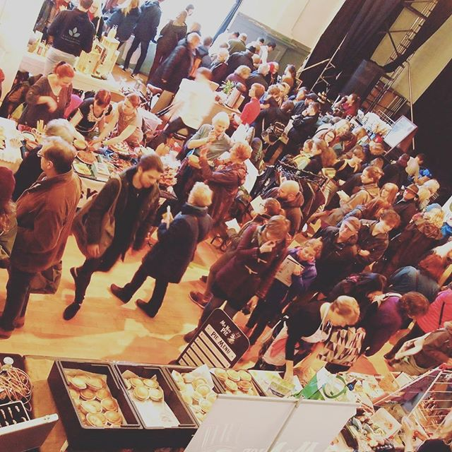 Stroud Vegan Fair Crowd