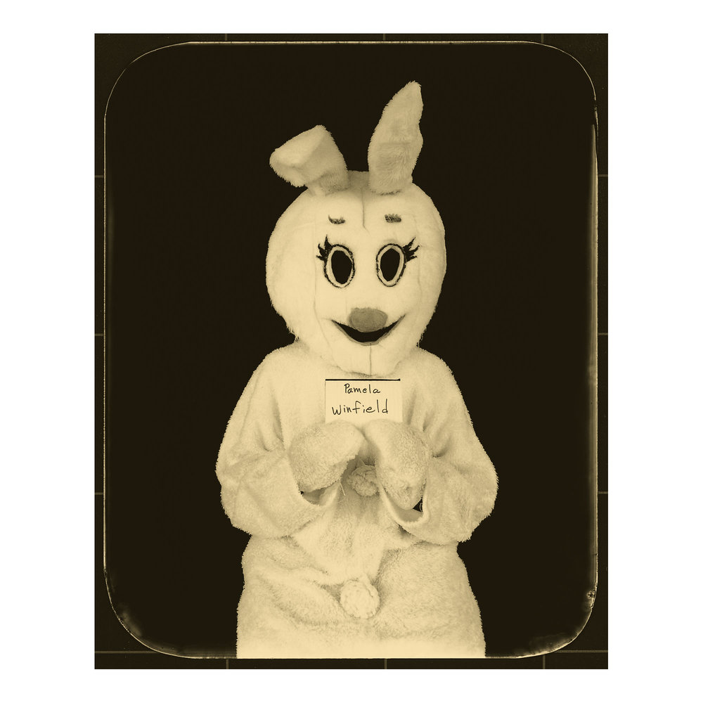 Pamela Winfield  ⠀doc #312197 Louisiana Correctional Institute for Women, St. Gabriel, Louisiana Sentence: 5 years, Work: floor worker, Easter Bunny: Children's Visiting Day