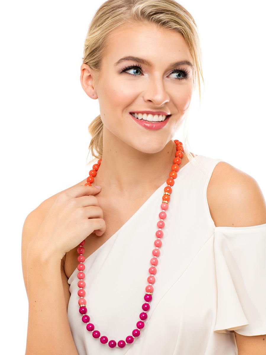 ZENZII Wholesale / Color Splash Long Necklace