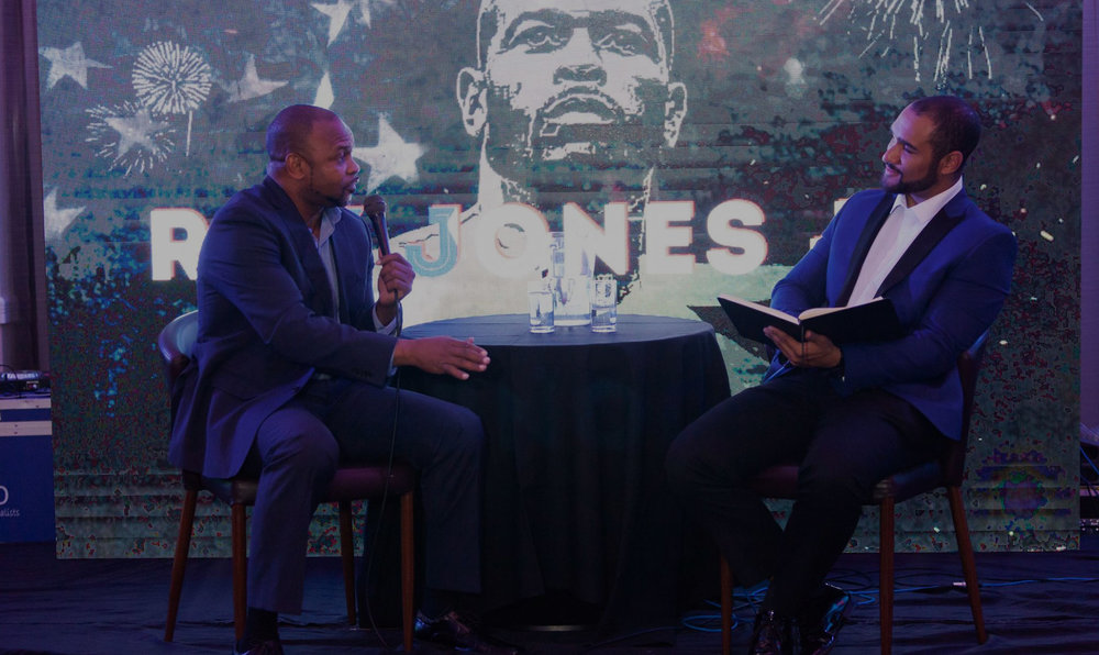 An Evening With Roy Jones Jr - Held at the Hagley (Ibis Hotel), Birmingham on the 24th May 2018
