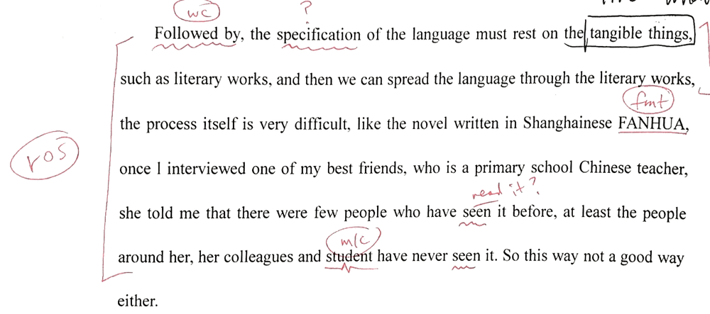 (There are many MANY ways to fix this sentence! It should be three or even four separate sentences.)