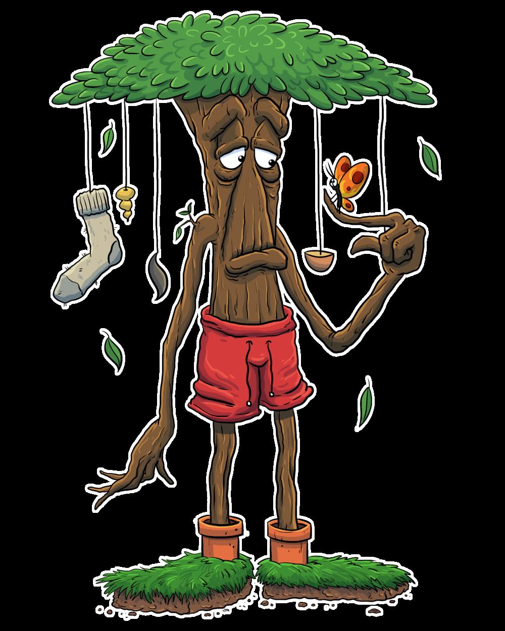Beechboy Barkley - Mellow tree dude