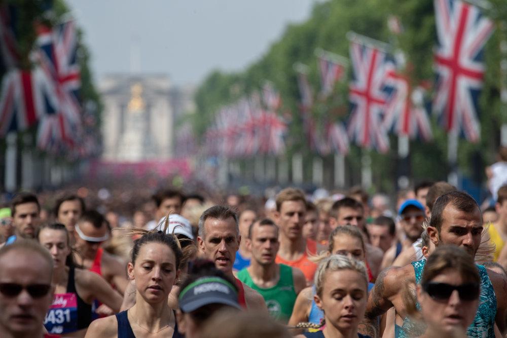 Adam Warner for Vitality London 10,000  London Marathon Events