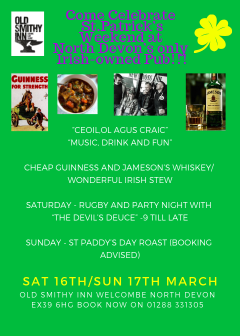 Come Celebrate St.Patrick's Weekend at  North Devon's only  Irish-owned Pub!!!.png