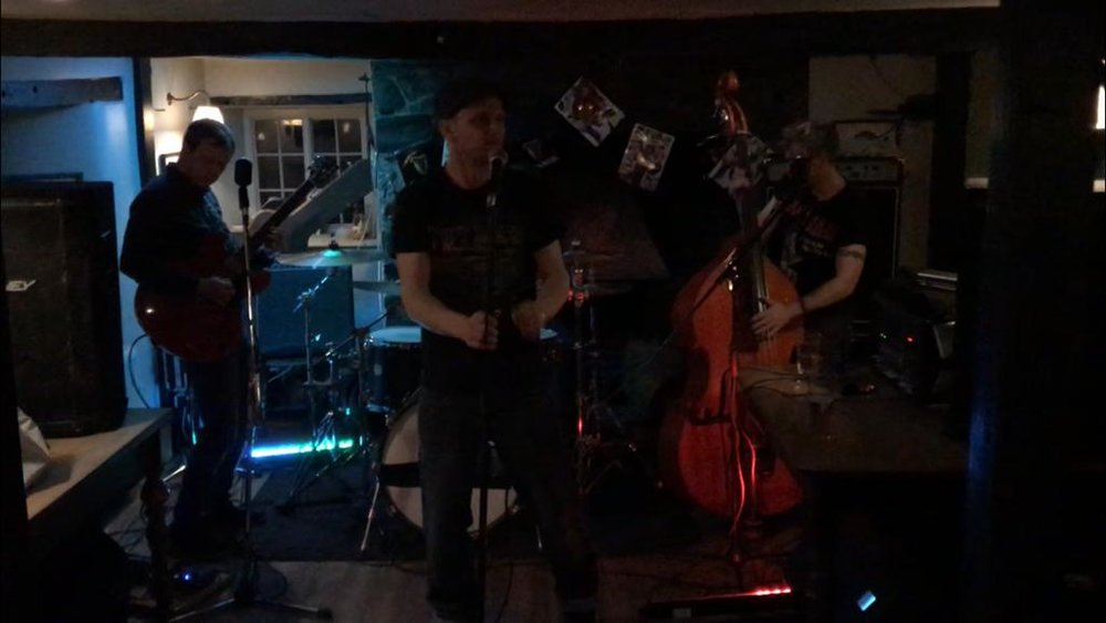 high octane cornish rockabilly from the devil's deuce @ the old smithy