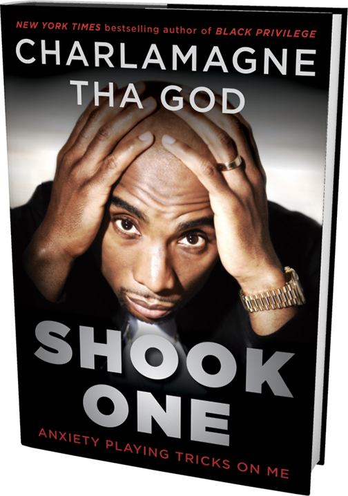 #ShookOne - COMING THIS FALLFear is holding you back. It's time to turn the tables and channel your fears to actually fuel your success.Being shook is more than a rap lyric for Charlamagne, it's his mission to overcome. While it may seem like he is ahead of the game and should have nothing to worry about, he is still plagued by anxieties—fear of being weak; fear of being a bad dad; fear of being a worse husband; and ultimately fear of failure. SHOOK ONE is his journey to beat back those fears and to empower you to no longer be held back from your potential.
