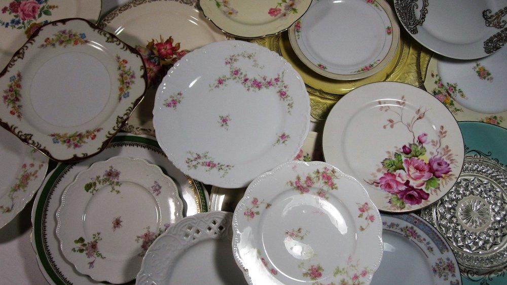 vintage china plates.JPG