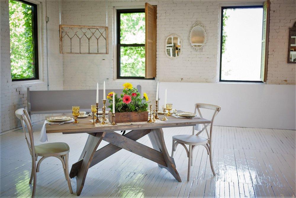 Farmhouse Harvest Table