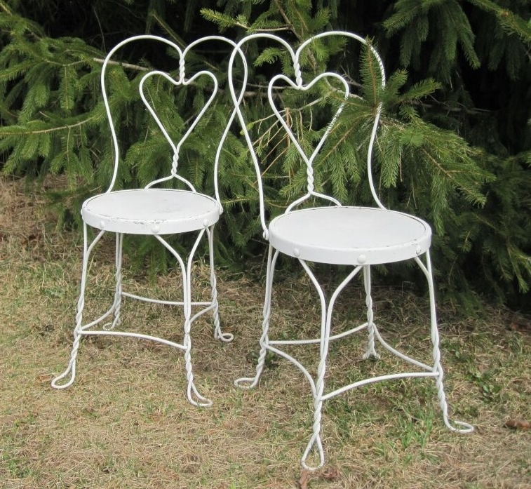 Ice Cream Parlor - Description ~ metal chairs that remind you of visits to the ice cream parlor for a frosty milkshake!Quantity ~ 12Rental Price ~ $4 each