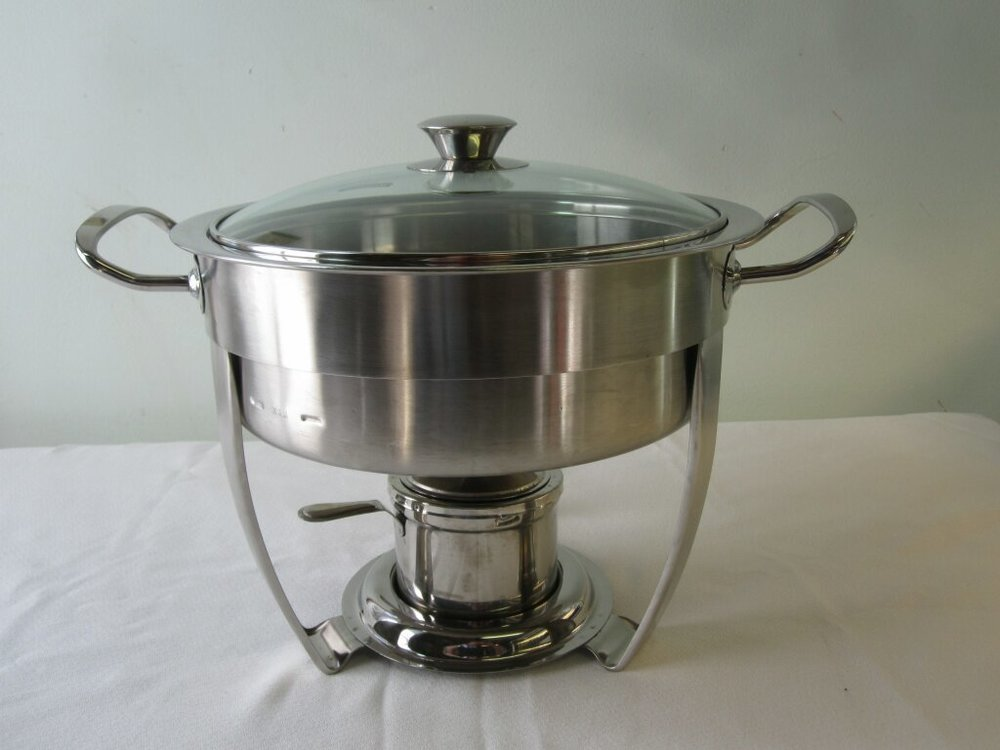 Round Chafer - DescriptionQuantity ~ 1Rental Price ~ $10