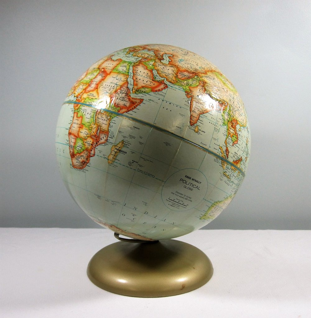 World Globe - Description ~ great for a travel themed event!Quantity ~ 1Rental Price ~ $8