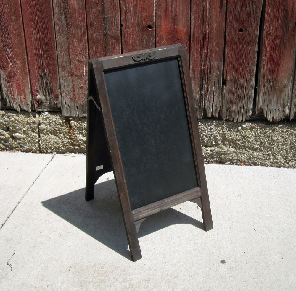 Diner Style Chalkboard - DescriptionQuantity ~1Price ~ $15