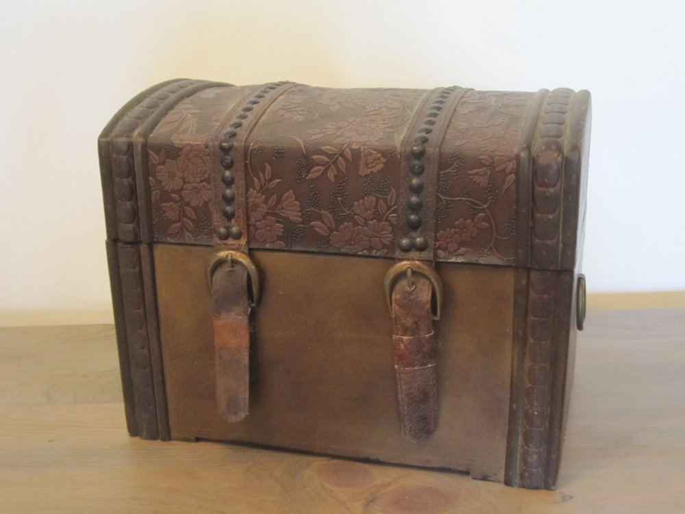 Wood Box - Description ~ decorative box which works well to collect cards or hold decor itemsQuantity ~ 1Rental Price ~ $7
