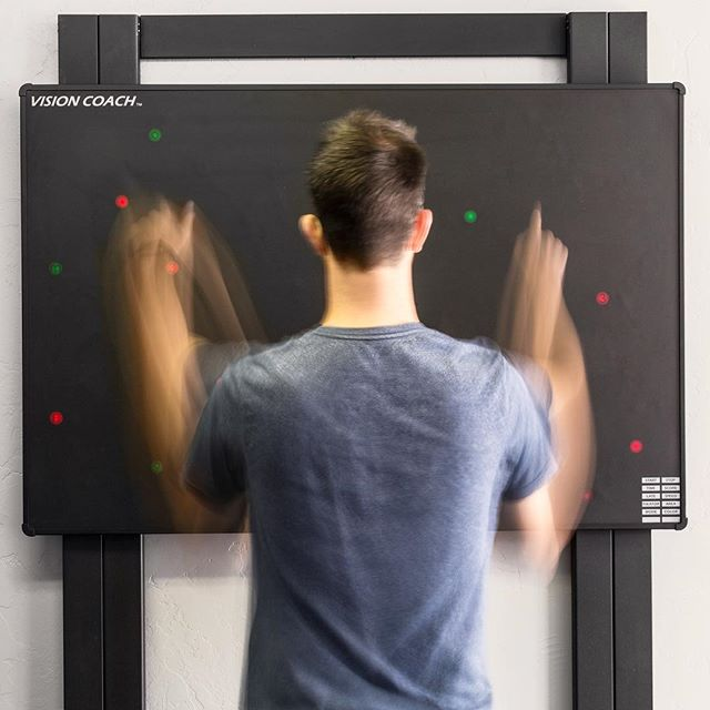 TRAIN TO BE THE FINEST ATHLETE IN THE WORLD WITH THE #VISIONCOACH INTERACTIVE LIGHT BOARD  Discover how the #visioncoach can be customized into #sport specific training routines, ensuring complete #conditioning for maximized #performance  #visioncoachtrainer #baseline #postconcussion