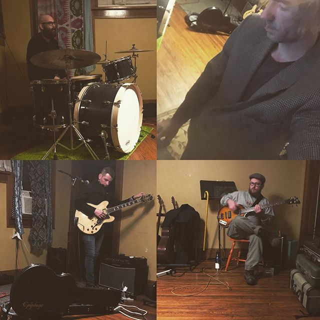 Hey, we've got a show in the not so distant future. Also, more practice creep shots🙄🙄🙄 #practicepracticepractice #okcmusic #oklahomamusic