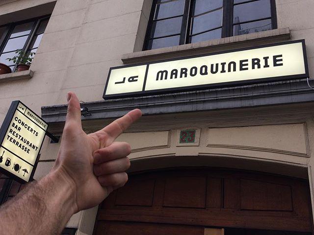 Lutece, en piste ce soir !  On vous attend avec impatience à @lamaroquinerie , c'est bon de vous retrouver !